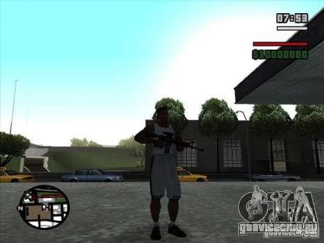 I AM Legend M4A1 для GTA San Andreas второй скриншот