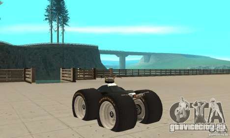 QUAD BIKE Custom Version 1 для GTA San Andreas вид сзади слева