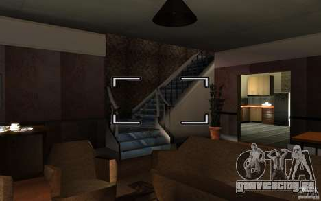 Русская хата сиджея для GTA San Andreas четвёртый скриншот