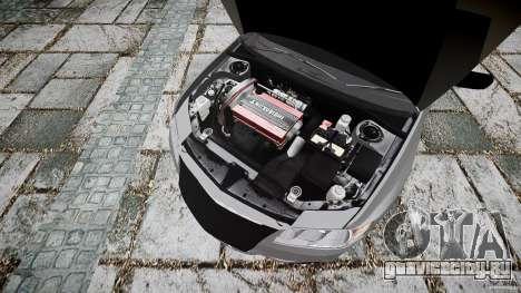 Mitsubishi Lancer Evolution VIII v1.0 для GTA 4 вид справа