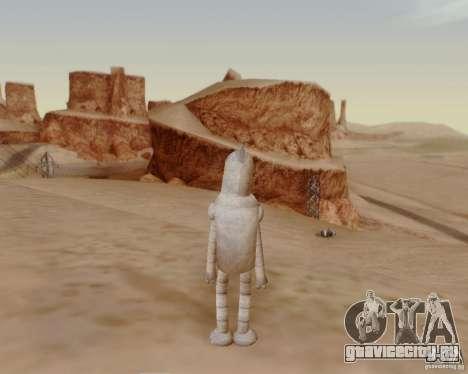 Futurama для GTA San Andreas пятый скриншот