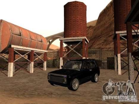 ВАЗ 2121 Tuning для GTA San Andreas вид сзади слева