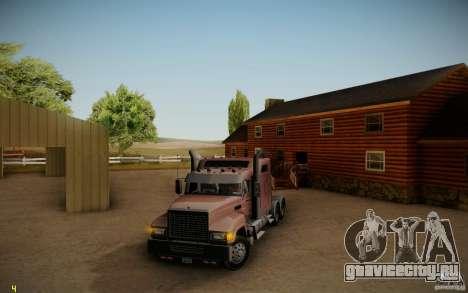 Mack Pinnacle Rawhide Edition для GTA San Andreas вид слева