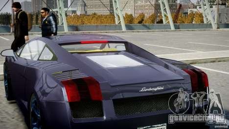 Lamborghini Gallardo Superleggera для GTA 4 двигатель