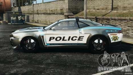 NFSOL State Police Car [ELS] для GTA 4 вид слева