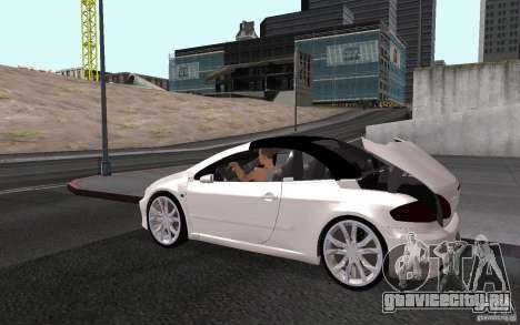 Peugeot 307CC BMS для GTA San Andreas двигатель