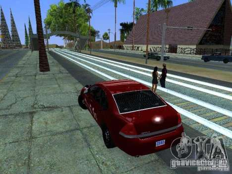 Chevrolet Impala Unmarked для GTA San Andreas вид справа