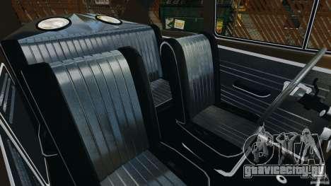 Volkswagen Fusca Gran Luxo v2.0 для GTA 4 вид изнутри