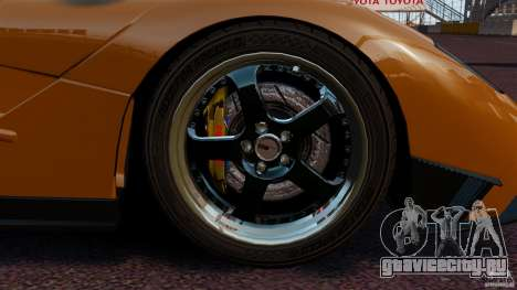 McLaren F1 для GTA 4 вид изнутри