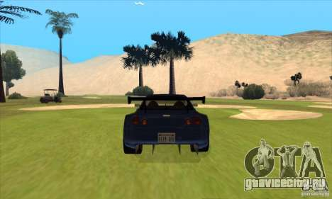 Nissan Skyline R34 GT-R LM для GTA San Andreas салон