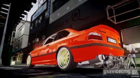 BMW E36 Alpina B8 для GTA 4 салон