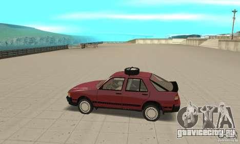 Saab 9000 для GTA San Andreas вид слева