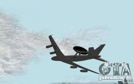 Boeing E-3 Sentry для GTA San Andreas вид слева