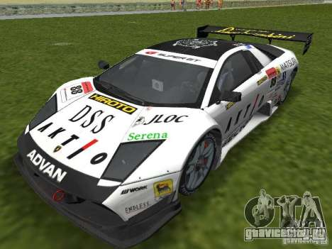 Lamborghini Murcielago R-GT для GTA Vice City