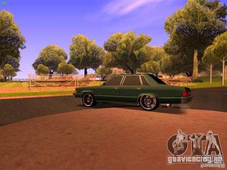 Chevrolet Malibu 1980 для GTA San Andreas вид сзади слева