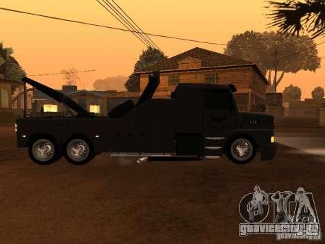 Scania 112H Gruas Fenix для GTA San Andreas вид слева