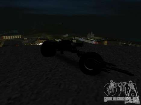 Batpod для GTA San Andreas вид сзади