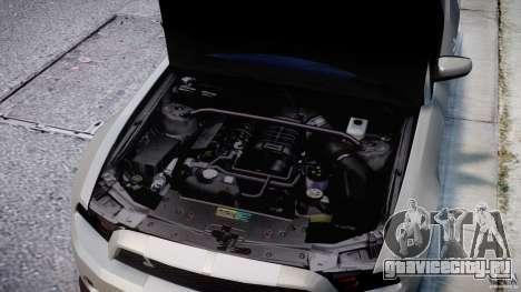Ford Shelby GT500 2010 [Final] для GTA 4 вид сверху