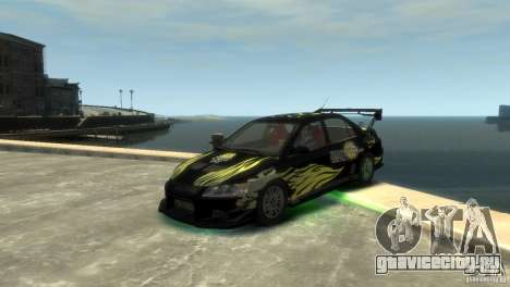 Mitsubishi EVO IX для GTA 4