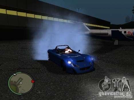 Lotus 2-Eleven 2009 для GTA San Andreas вид слева