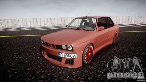 BMW E30 v8 для GTA 4