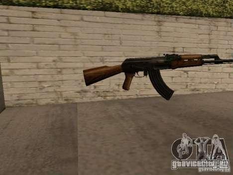АК 47 для GTA San Andreas второй скриншот