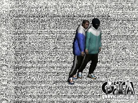 Russian Thug для GTA San Andreas пятый скриншот