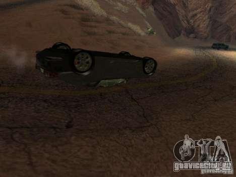 Перевернутые автомобили не горят для GTA San Andreas третий скриншот