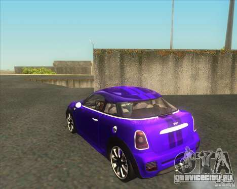 Mini Coupe 2011 Concept для GTA San Andreas