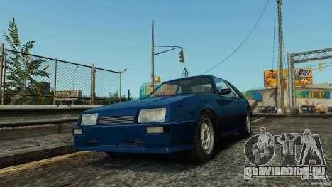 Uranus Hatchback для GTA 4 вид слева