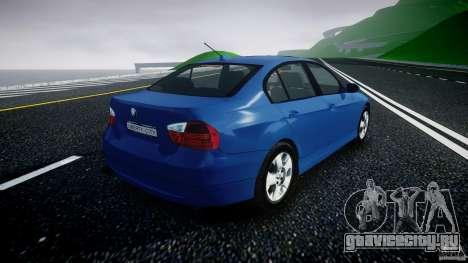 BMW 3-Series Unmarked [ELS] для GTA 4 вид изнутри