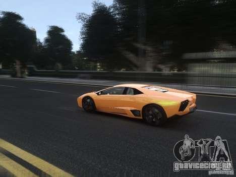 Lamborghini Reventon 2008 для GTA 4 вид сбоку