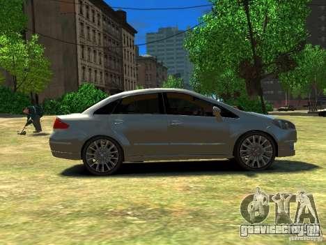 Fiat Linea для GTA 4 вид слева