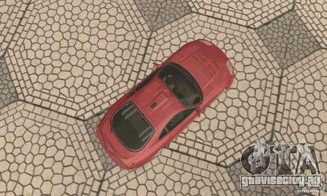 Toyota Supra Tunable 2 для GTA San Andreas вид сзади