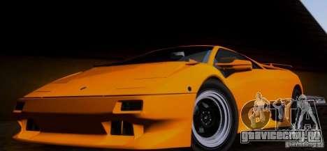 Lamborghini Diablo VTTT Black Revel для GTA San Andreas вид слева
