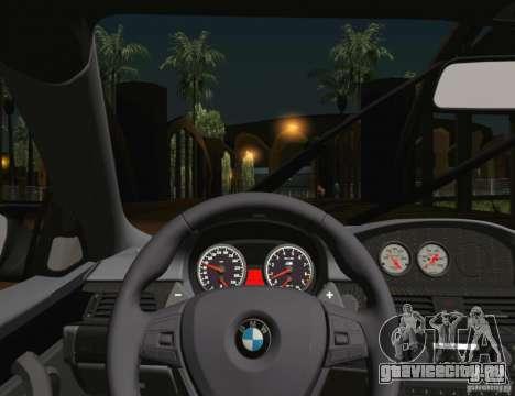 BMW M3 GT-S 2011 для GTA San Andreas вид сверху