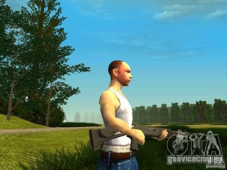 Benelli M4 Super 90 для GTA San Andreas третий скриншот