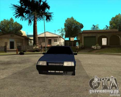 ВАЗ 21099 Light Tuning by Diman для GTA San Andreas вид сзади