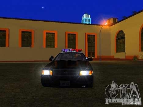Ford Crown Victoria San Andreas State Patrol для GTA San Andreas вид сбоку