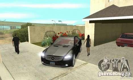 Mercedes-Benz CL500 для GTA San Andreas