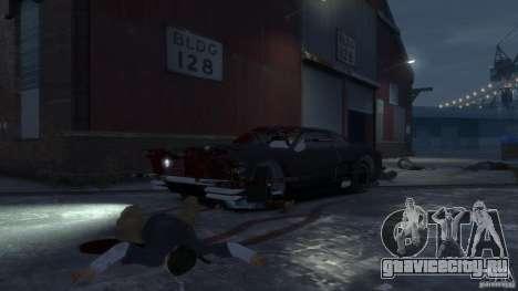Apocalyptic Mustang Concept (Beta) для GTA 4 вид изнутри