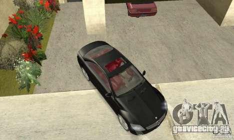 Mercedes-Benz CL500 для GTA San Andreas вид справа