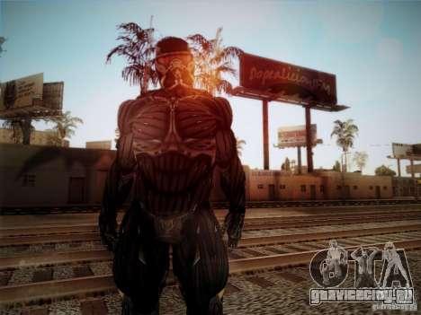 Crysis 2 Nano-Suit HD для GTA San Andreas второй скриншот