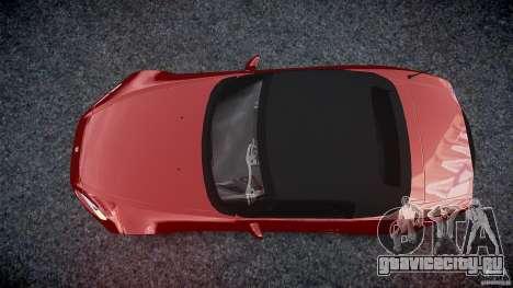 Honda S2000 v2 2002 для отжигов для GTA 4 вид сбоку