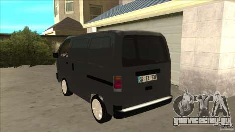Suzuki Carry Blind Van 1.3 1998 для GTA San Andreas вид сзади слева