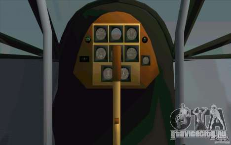 Fiesler Storch для GTA San Andreas вид сбоку