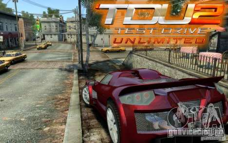 Gumpert Apollo Sport для GTA 4 вид слева