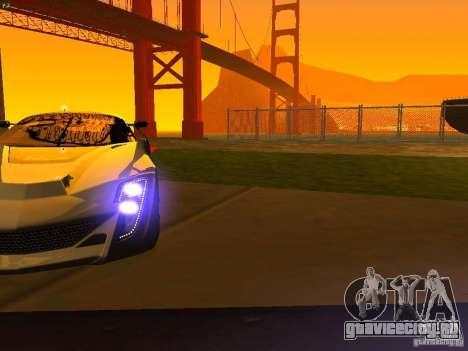 Bertone Mantide для GTA San Andreas колёса
