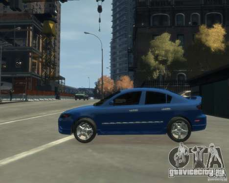 Mazda 3 sedan 2008 для GTA 4 вид слева