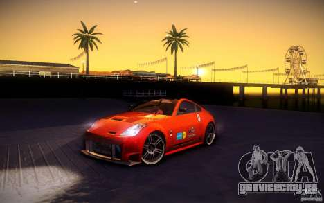 Nissan 350Z Fairlady для GTA San Andreas колёса